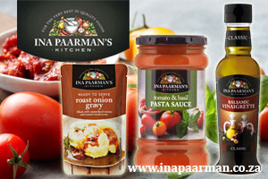 Visit the Ina Paarman to view their vegan range of cooking sauces, dressings and spices