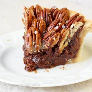 Chocolate Pecan Pie by Pieter Kotzé