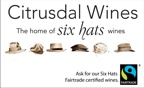 Six Hats vegan wine from Citrusdal Wines, South Africa