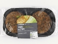 Healthy vegan patties from Woolworths