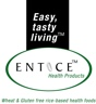 Entice Health Products - gluten and dairy free bakery products, muesli and rice milk powders