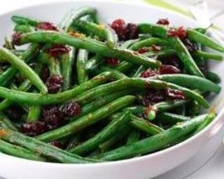 Green Beans With Cranberry