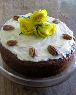 Vegan carrot cake by Gabriele Teale-James